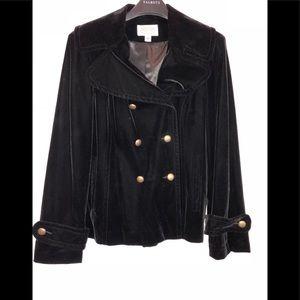 Talbots velvet coat